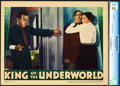 "Movie Posters:Crime, King of the Underworld (Warner Brothers, 1939). CGC Graded LobbyCard (11"" X 14"").. ..."