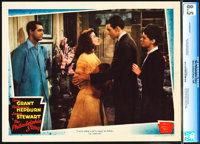 "The Philadelphia Story (MGM, 1940). CGC Graded Lobby Card (11"" X 14"")"