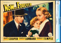 "Movie Posters:Drama, Now and Forever (Paramount, 1934). CGC Graded Lobby Card (11"" X14"").. ..."