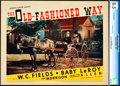 """Movie Posters:Comedy, The Old-Fashioned Way (Paramount, 1934). CGC Graded Lobby Card (11""""X 14"""").. ..."""