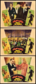"""Movie Posters:Musical, Shall We Dance (RKO, 1937). Lobby Cards (3) (11"""" X 14"""").. ...(Total: 3 Items)"""