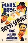 "Movie Posters:Comedy, Room Service (RKO, 1938). One Sheet (27"" X 41"") Style B.. ..."
