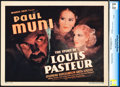"Movie Posters:Drama, The Story of Louis Pasteur (Warner Brothers, 1935). CGC Graded Title Lobby Card (11"" X 14"").. ..."