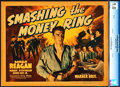 "Movie Posters:Drama, Smashing the Money Ring (Warner Brothers, 1939). CGC Graded TitleLobby Card (11"" X 14"").. ..."