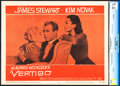 "Movie Posters:Hitchcock, Vertigo (Paramount, 1958). CGC Graded Lobby Card (11"" X 14"").. ..."