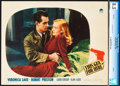 """Movie Posters:Film Noir, This Gun for Hire (Paramount, 1942). CGC Graded Lobby Card (11"""" X14"""").. ..."""