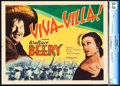 "Movie Posters:Western, Viva Villa! (MGM, 1934). CGC Graded Title Lobby Card (11"" X 14"").. ..."