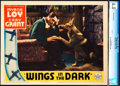 """Movie Posters:Adventure, Wings in the Dark (Paramount, 1935). CGC Graded Lobby Card (11"""" X14"""").. ..."""