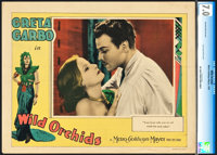 "Wild Orchids (MGM, 1929). CGC Graded Lobby Card (11"" X 14"")"