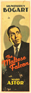 "Movie Posters:Film Noir, The Maltese Falcon by Arthur K. Miller (2013). Original ArtworkCloth Banner (23"" X 68""). ..."