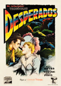 "Movie Posters:Western, The Desperadoes (CEIAD, 1946). First Post-War Release Italian 2 -Foglio (39"" X 55"").. ..."