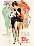 "Movie Posters:Comedy, Irma la Douce (United Artists, 1963). French Grande (47"" X 62.5"")....."