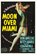 "Movie Posters:Musical, Moon Over Miami (20th Century Fox, 1941). One Sheet (27"" X 41"") Style A.. ..."