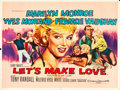 "Movie Posters:Comedy, Let's Make Love (20th Century Fox, 1960). British Quad (30"" X40"").. ..."