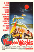 """Movie Posters:Science Fiction, The War of the Worlds (Paramount, R-1965). One Sheet (27"""" X 41"""").. ..."""