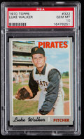 Baseball Cards:Singles (1970-Now), 1970 Topps Luke Walker #322 PSA Gem Mint 10....