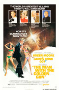 """Movie Posters:James Bond, The Man with the Golden Gun (United Artists, 1974). One Sheet (27"""" X 41"""") Style B.. ..."""
