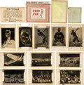 Baseball Cards:Lots, 1930's Foto-Fun, Ray-O-Print, Leader Novelty & Sun PicturesNegatives, Prints & Packaging (30 Items). ...