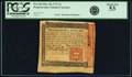Colonial Notes:Pennsylvania, Pennsylvania March 20, 1771 5 Shillings Fr. PA-146 PCGS About New53.. ...