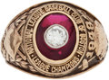 Baseball Collectibles:Others, 1948 Boston Braves National League Championship Ring Presented to Outfielder Jeff Heath....