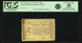 Colonial Notes:North Carolina, North Carolina April 2, 1776 $7 ½ Flag Fr. NC-164. PCGS ExtremelyFine 40 Apparent.. ...