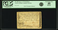 Colonial Notes:North Carolina, North Carolina April 2, 1776 $15 Boar Fr. NC-168. PCGS ExtremelyFine 40 Apparent.. ...