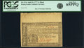 Colonial Notes:Pennsylvania, Pennsylvania April 10, 1777 1 Shilling Black Fr. PA-213a. PCGS GemNew 65PPQ.. ...