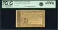 Colonial Notes:Pennsylvania, Pennsylvania April 10, 1777 2 Shillings Black Fr. PA-215a. PCGSChoice New 63PPQ.. ...
