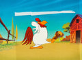 Animation Art:Production Cel, Kentucky Fried Chicken TV Commercial - Foghorn Leghorn and Henerythe Hawk Production Cel Setup (Yum! Brands/Warner Brothers, ...(Total: 2 Original Art)