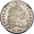 Early Half Dimes, 1794 H10C V-4, LM-4, R.4 -- Improperly Cleaned -- NGC Details.AU....
