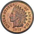 Proof Indian Cents, 1877 1C PR65 Red and Brown PCGS. CAC....