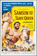 "Movie Posters:Action, Samson and the Slave Queen (American International, 1964). OneSheet (27"" X 41""). Action.. ..."
