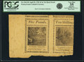 Colonial Notes:Pennsylvania, Pennsylvania April 20, 1781 5 Pounds & 10 Shillings Back ProofsPair Fr. PA-256/249. PCGS Very Fine 35 Apparent.. ...