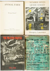 [Genre Literature]. Group of Four Books. Titles include: Seabury Quinn. The Phantom Fighter