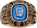 Football Collectibles:Others, 1967 Pro Football Hall of Fame Induction Ring Presented to Chuck Bednarik....
