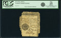 Colonial Notes:Vermont, State of Vermont 1781 5 Shillings Fr. VT-4. PCGS Fine 15 Apparent.. ...