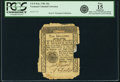Colonial Notes:Vermont, State of Vermont 1781 10 Shillings Fr. VT-5. PCGS Fine 15Apparent.. ...