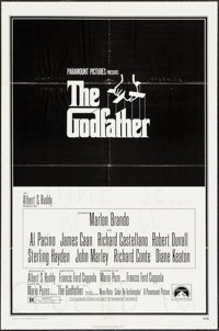 """The Godfather & Others Lot (Paramount, 1972). One Sheets (39) (27"""" X 41"""") & Lobby Cards (6) (1..."""
