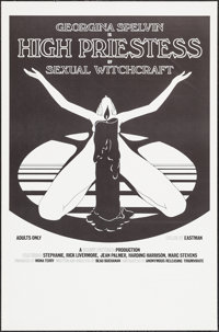 High Priestess of Sexual Witchcraft & Other Lot (Anonymous Releasing Triumvirate, 1973). One Sheets (90) (27&quo...
