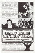 "Movie Posters:Documentary, Lenny Bruce Without Tears (Fred Baker Films, 1972). One Sheets (5) (27"" X 41""). Documentary.. ... (Total: 5 Items)"