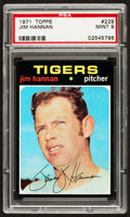 Baseball Cards:Singles (1970-Now), 1971 Topps Jim Hannan #229 PSA Mint 9....