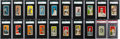 Baseball Cards:Lots, 1909-1915 Candy/Caramel Baseball Type Card Graded Collection (20)With Red Croft's Candy and E91 Back Print. ...