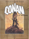 Memorabilia:Poster, Conan Movie Poster Group (Universal/MGM, c. 1980s).... (Total: 3Items)