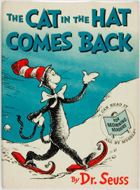 Dr. Seuss. The Cat in the Hat Comes Back! Beginner Books, [1958]. First Printing