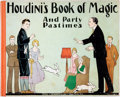 Books:Children's Books, [Houdini]. Houdini's Book of Magic and Party Times Pastimes.New York: Stoll & Edwards Co., 1927. ...