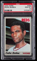Baseball Cards:Singles (1970-Now), 1970 Topps Pedro Borbon #358 PSA Gem Mint 10....
