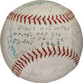 Baseball Collectibles:Balls, This item is currently being reviewed by our catalogers and photographers. A written description will be available along with high resolution images soon.