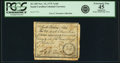 Colonial Notes:South Carolina, South Carolina November 15, 1775 7 Shillings 6 Pence Fr. SC-105.PCGS Extremely Fine 45 Apparent.. ...