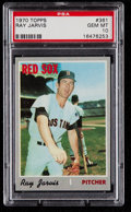 Baseball Cards:Singles (1970-Now), 1970 Topps Ray Jarvis #361 PSA Gem Mint 10....