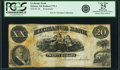 Obsoletes By State:Arkansas, Helena, AR - Exchange Bank $20 18__ Haxby-UNL, Rothert 279-3 Remainder. PCGS Very Fine 25 Apparent.. ...